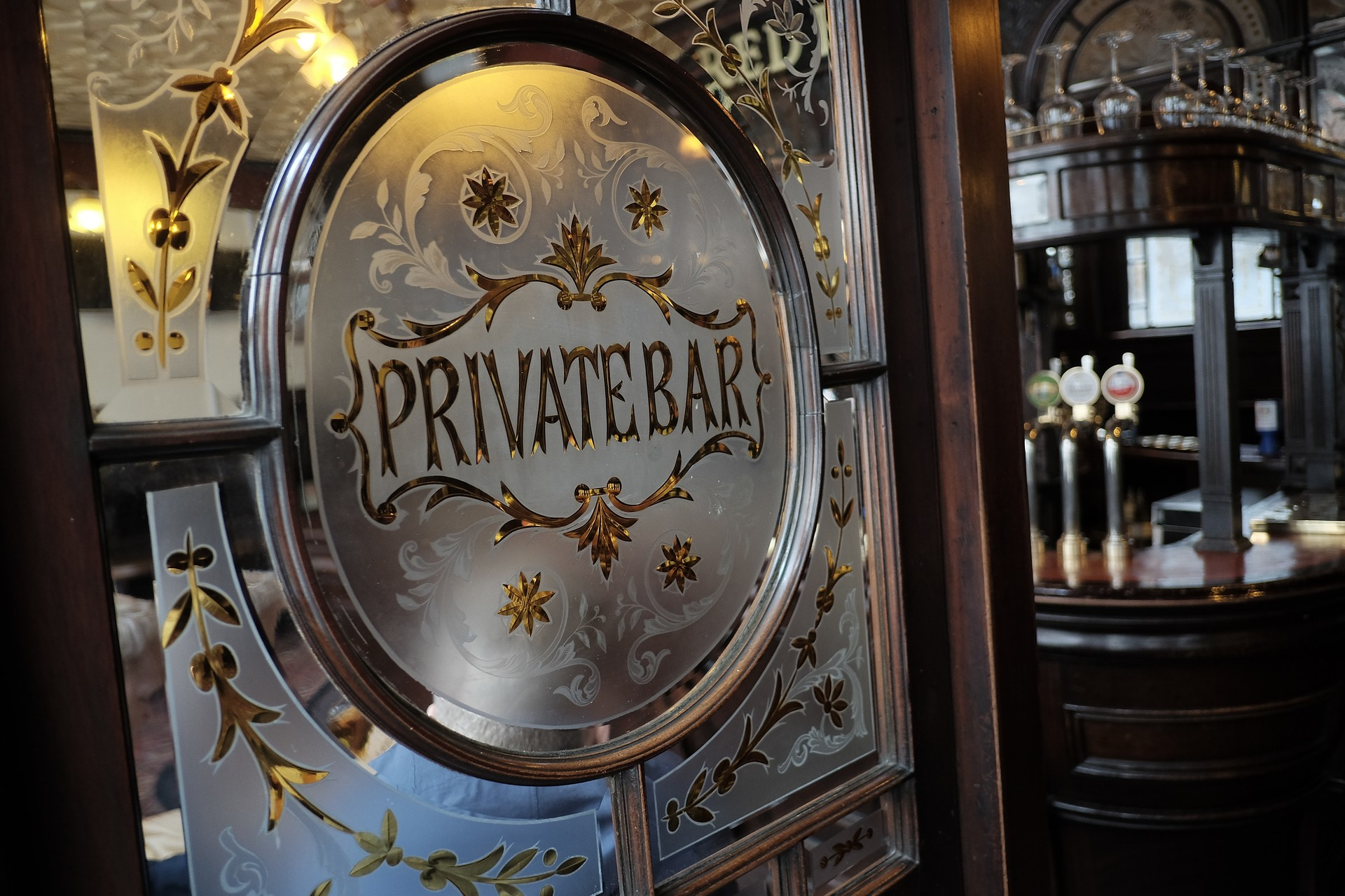 Private Bar Glasswork